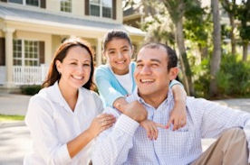 Happy Family - moving help - Potomac concierge