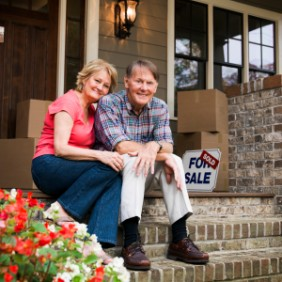 Senior couple preparing for move - moving help - potomac concierge