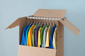 wardrobe box - moving help - Potomac concierge